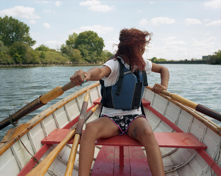 Torey, Rowing the Bronx River, 2014