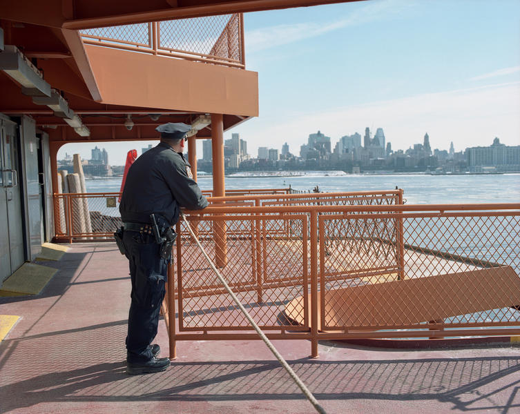 Police Officer, Staten Island Ferry, 2015