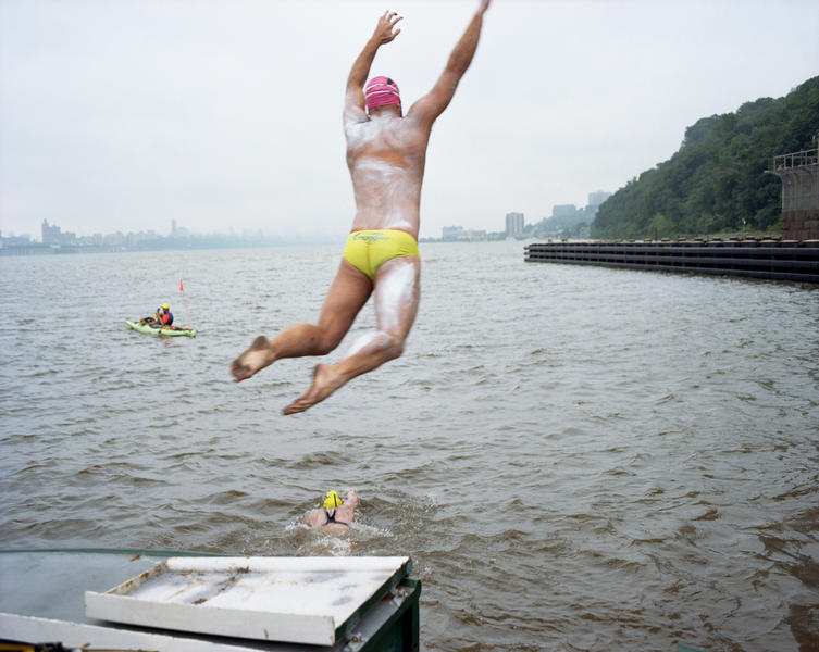 Eight Bridges Swim, The Hudson River, 2014