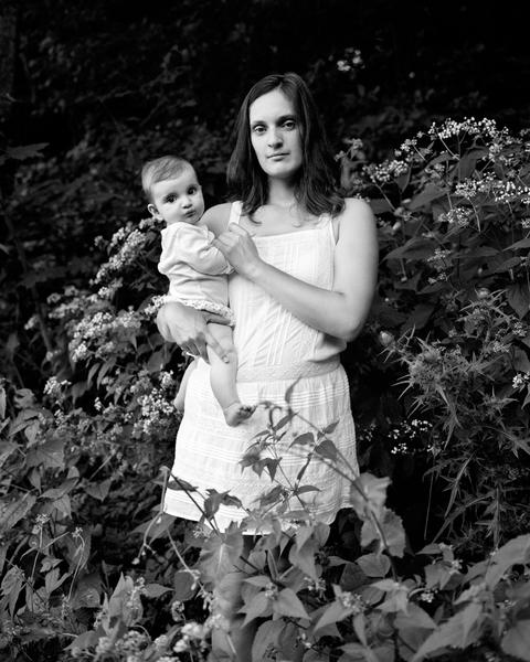 Jacynthe and Margot, 16 x 20 inches, c-print, 2014