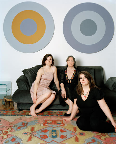 Zoë, Judith and Isa, 20 x 24 inches, c-print, 2014
