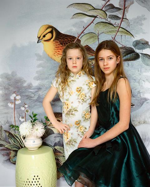 Josephine&PenelopeWilsonRose, 40x50',2018