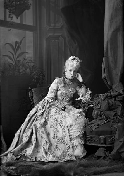 Miss M.F Rolland, Montreal, 1873, William Notman