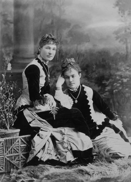 MissMacvilla and sister, 1880, Notman & Sandham