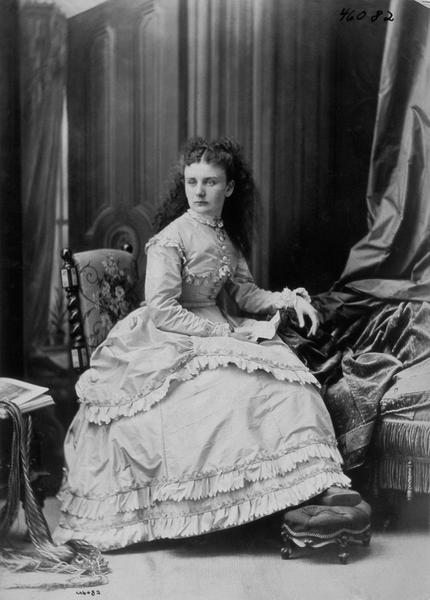 Miss M.  Allan, Montreal, 1870, William Notman