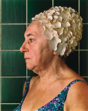 Woman with bathing Cap, 1984