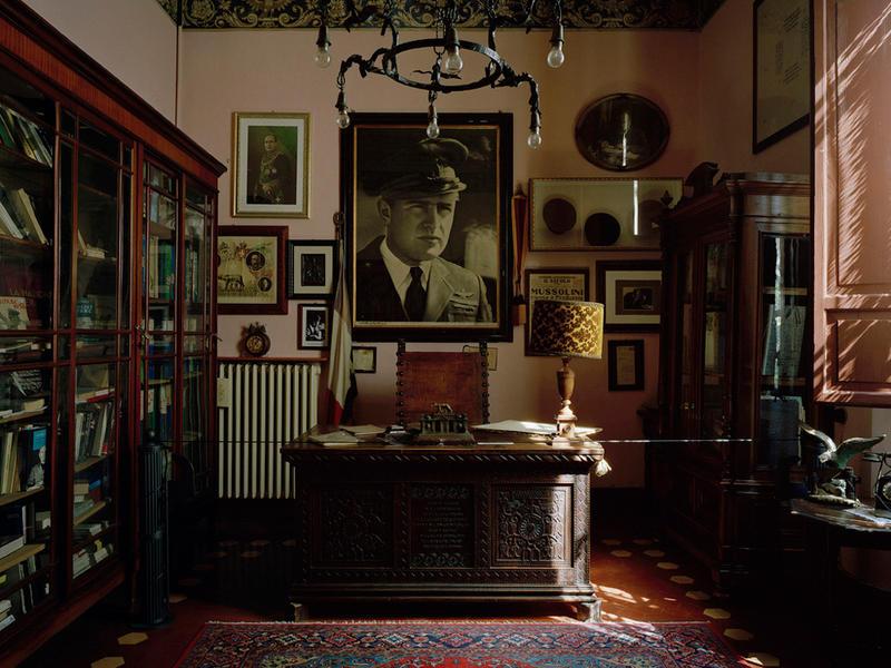 Mussolini's Study, Predappio, Italy