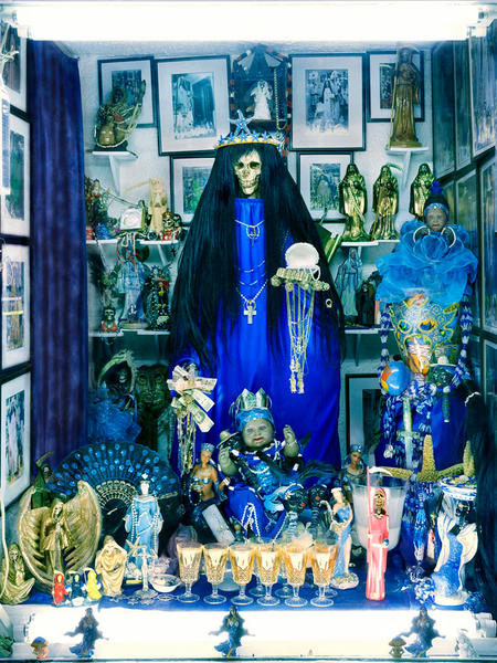 Santa Muerte Shrine, Tepito, Mexico