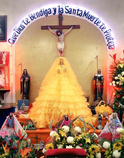 Santa Muerte Shrine, Puebla, Mexico