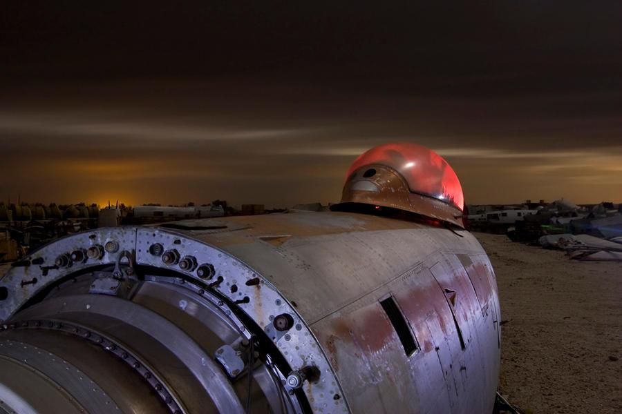86'ed--Junkyard Coldwar-era F-86 Fighter