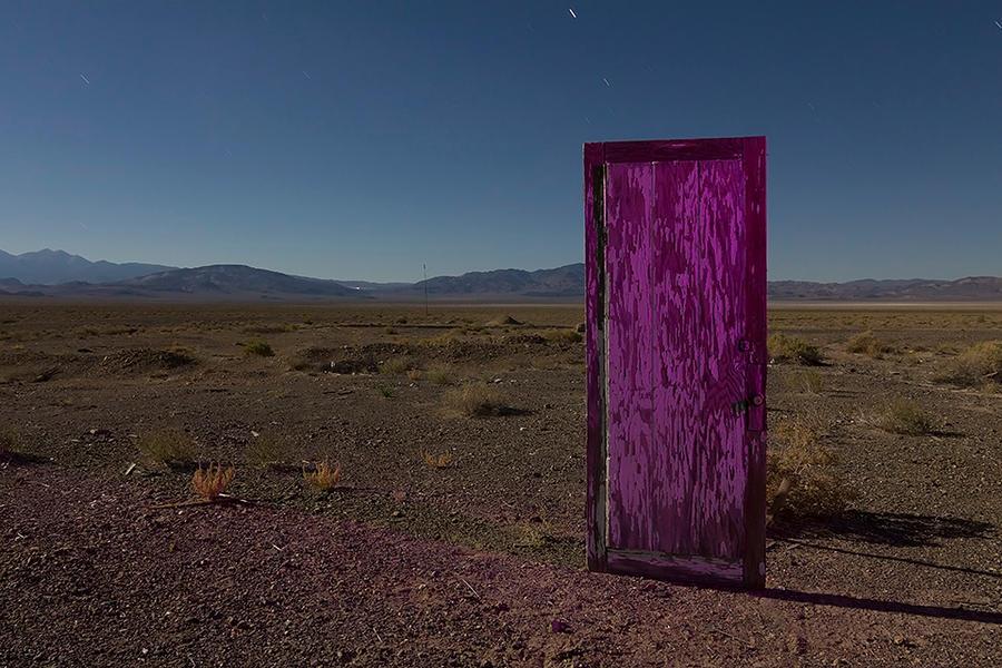Riki's Transdimensional Door-- Coaldale, Nevada