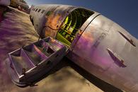 Sherbet Boarding-- Aircraft Boneyard, C-118