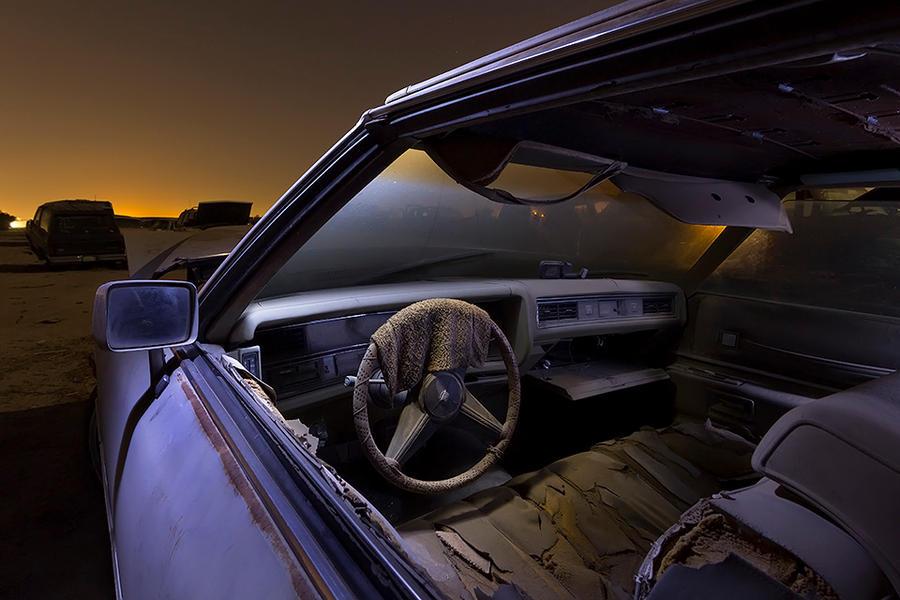Mrs. B's Dirty Washcloth-- Cadillac