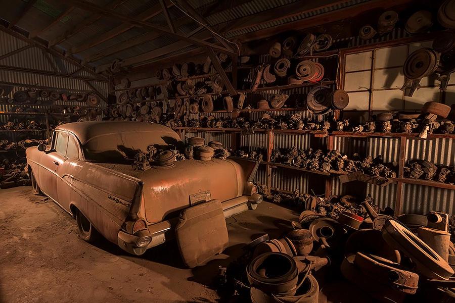 Buried Treasure- '57 Chevy