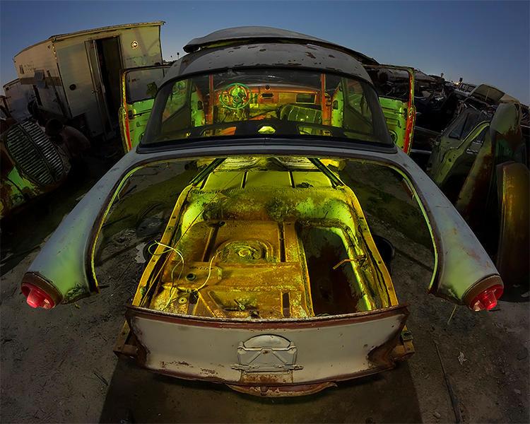 Cutaway Crestline-- Early '50s Ford