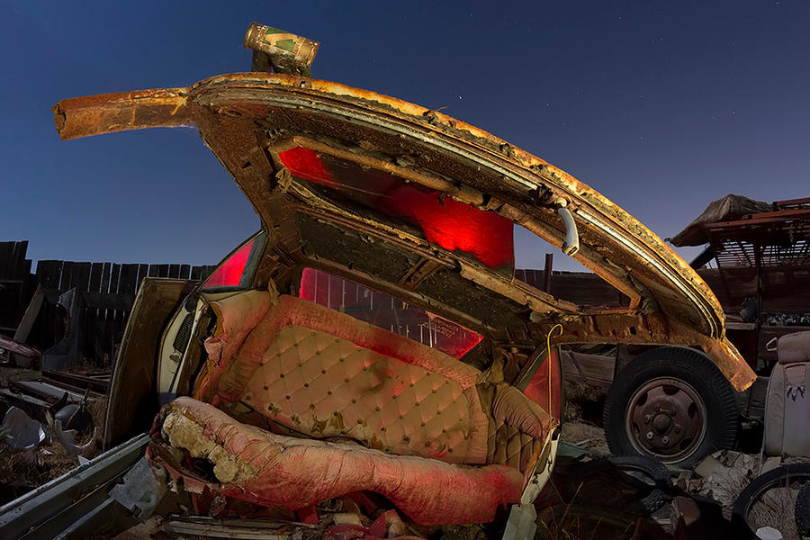 The Golden Sedan Chair-- Camaro