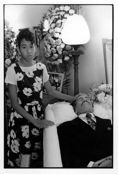 Willie Sandoval's funeral, NYC 1992