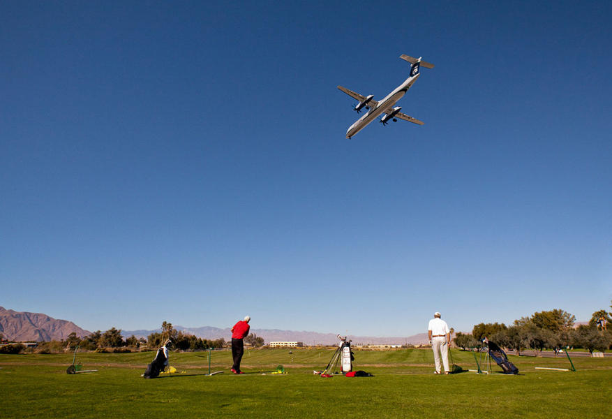 Golf Course Plane