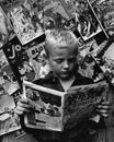 Comic Book Reader, NYC, 1946