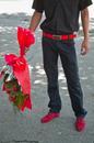 Boy with Flowers, Tashkent, Uzbekistan, 2010