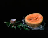 Still Life with Cup and Melon