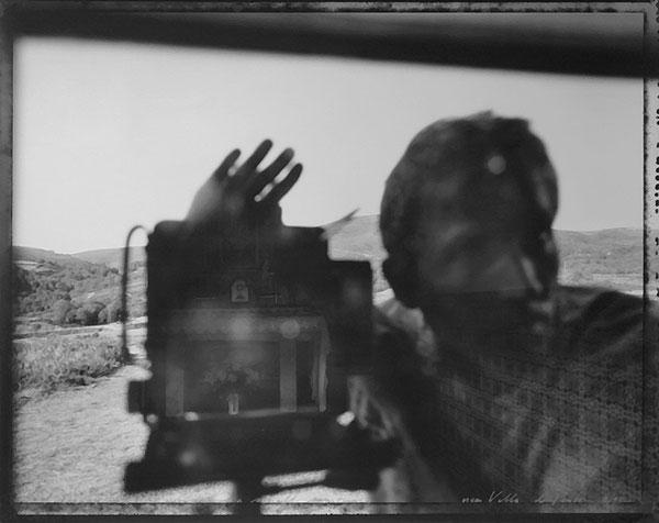 Peering Into the Window of a Small Sanctuary Near Villa de Ponte, 1995
