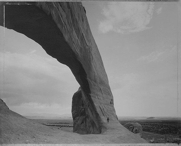 Beneath the Great Arch, Near Monticello, Utah