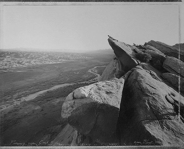 Peering Over Comb Ridge, Near Bluff, Utah