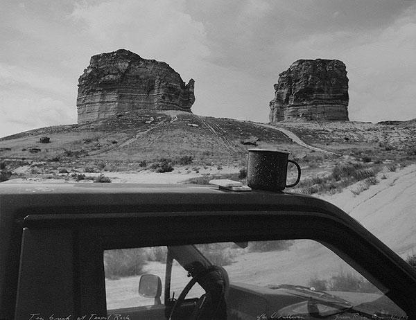 Tea Break at Teapot Rock, After O'Sullivan Green River, Wyoming, 1997