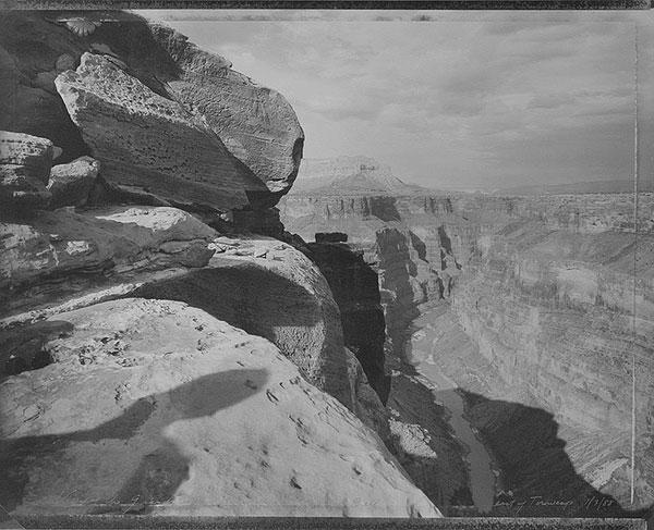 View of Grand Canyon in Homage to William Bell, East of Toroweap