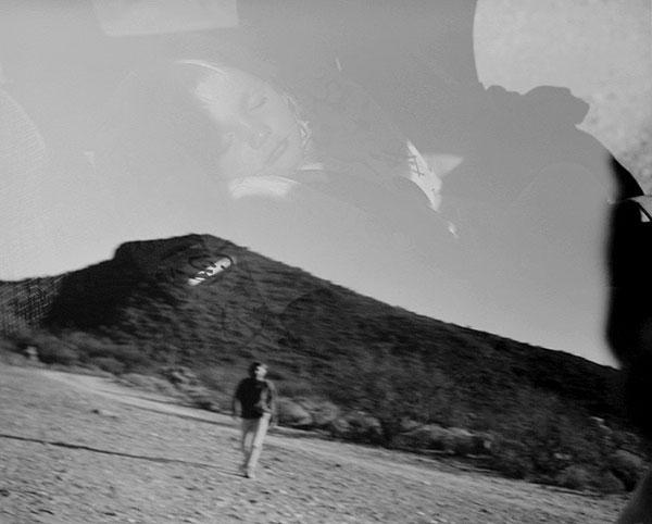 Natalie Dreaming, Rest Stop, Superstition Mountains, AZ