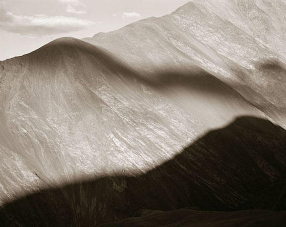 Cloud Shadow, Ladakh, India, 1988