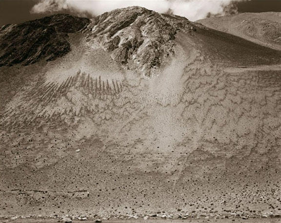 Mountain Side, Ladakh, India, 2007