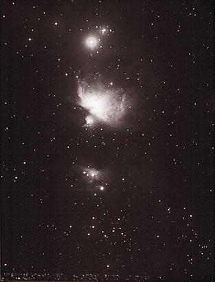 Orion Nebula, January 21, 1938