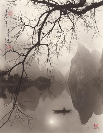 Mist Wrapping the Peaks, Guilin 1982