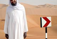 Somali Holy Man in Desert