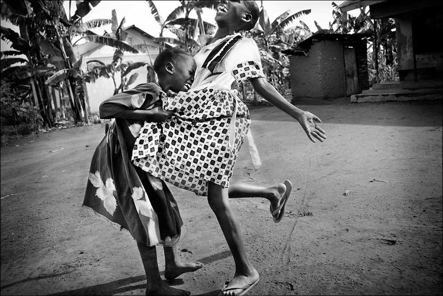 'Girls Laughing, Uganda'