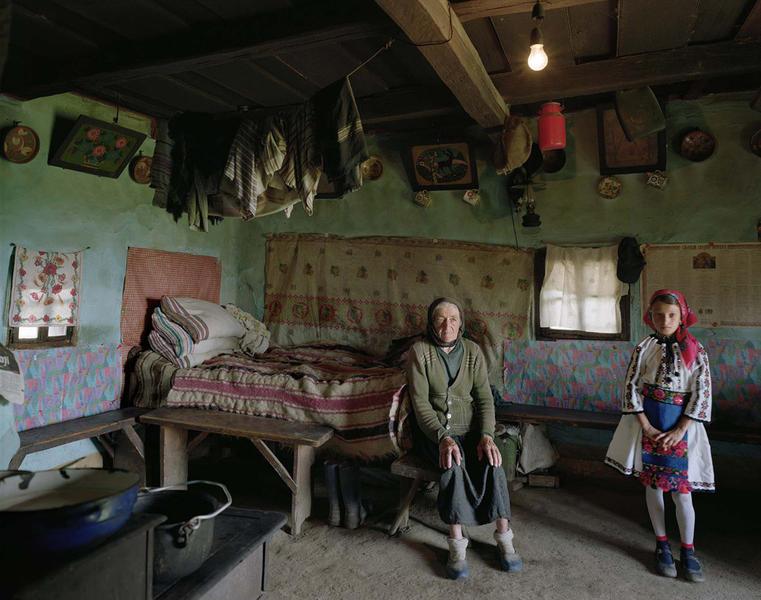 Grandmother and Granddaughter, Maramures, Romania