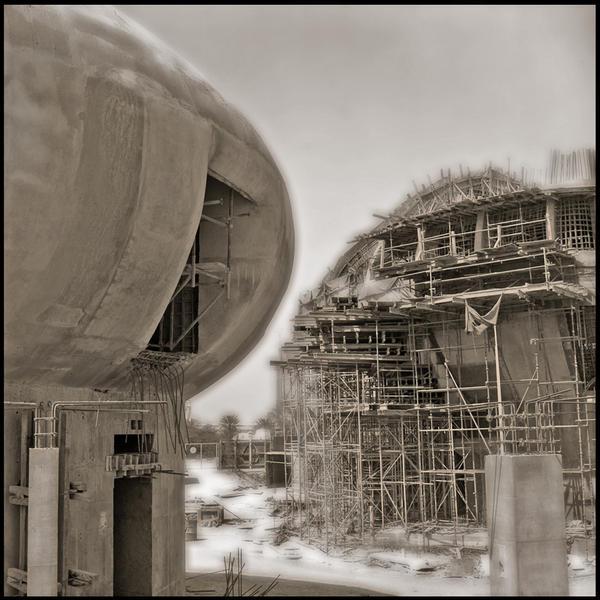 Abandoned Spaceship, Doha, Qatar