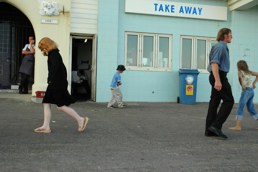 Seaside promenade, Bournemouth, UK