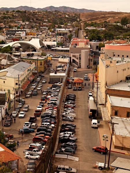 View from Hamburger Hill, Nogales, Arizona