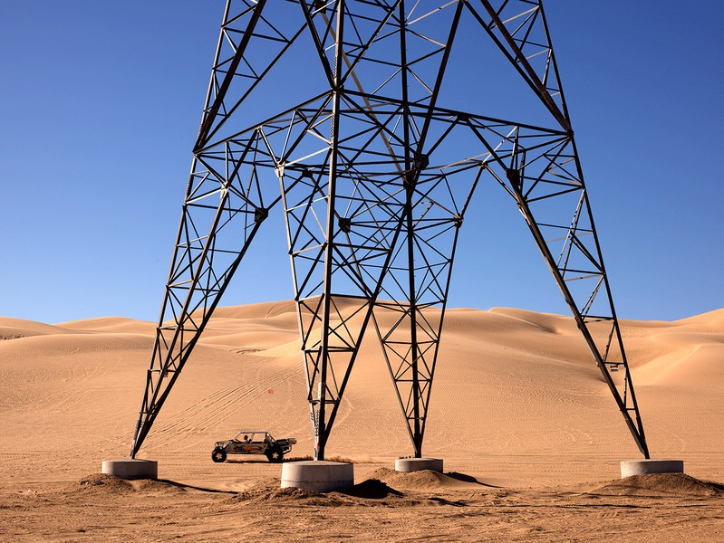 Transmission Tower, Imperial, California