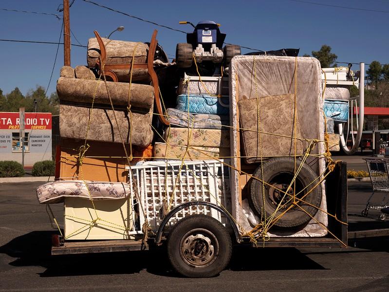 Trailer to Mexico, Nogales, Arizona