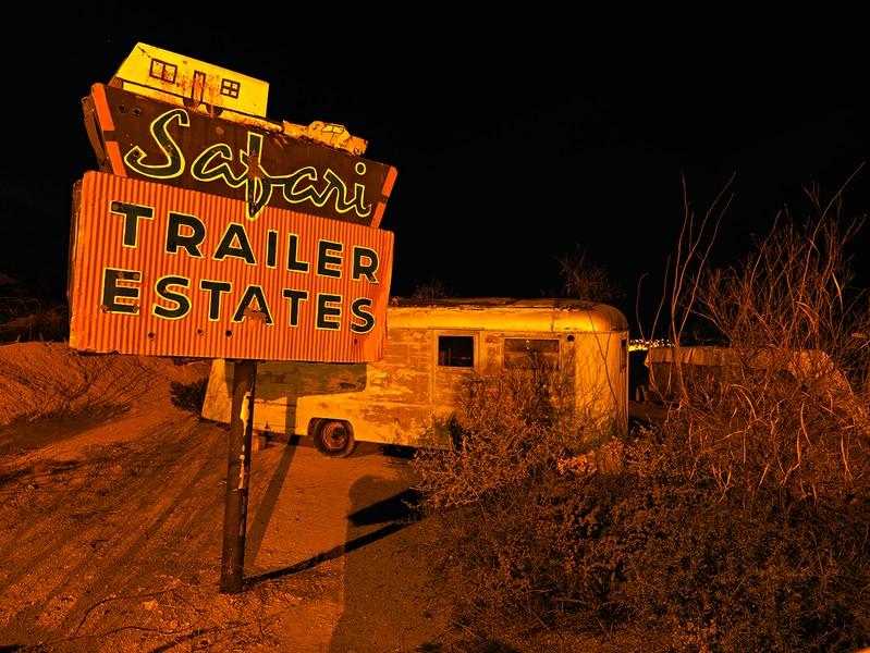 Trailer Park, Sunland Park, New Mexico