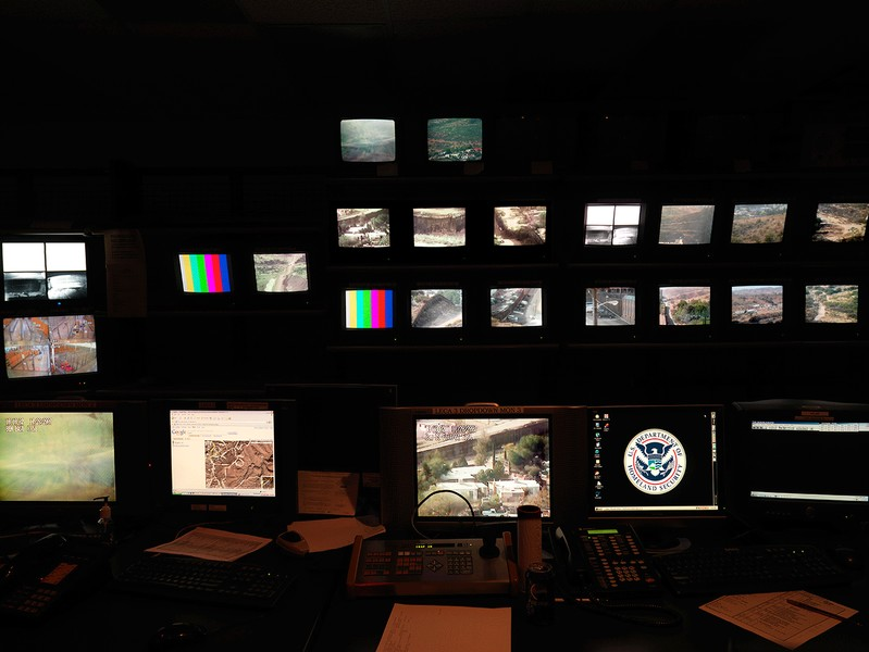 Control Room, Nogales, Arizona