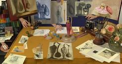 Self Portrait as a Living Artist