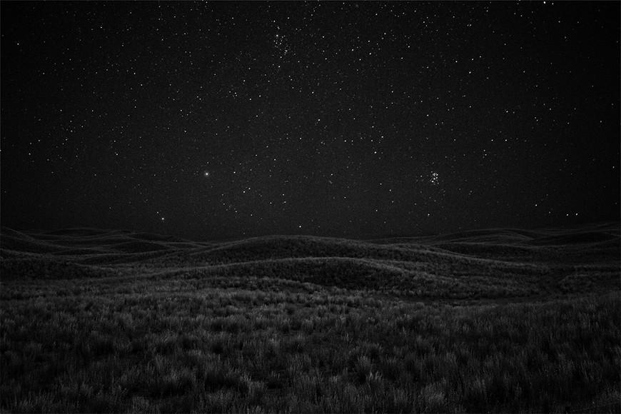 Pleiades Rising, Sand Hills, Nebraska