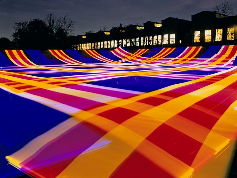 Light Tartans: Fountain Park #4, 2007