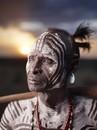 Karo Elder At Sunset