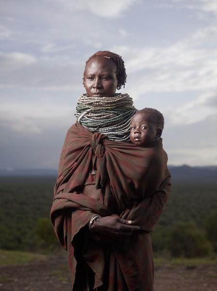 Karo Mother at Sunrise